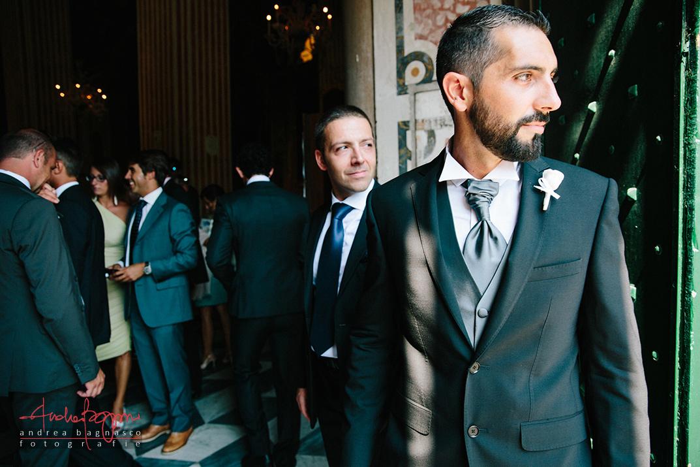 fotografo matrimonio genova villa faraggiana sposo