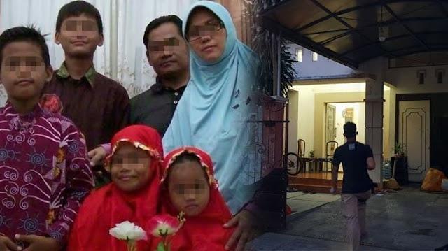 Miris! Ibu Pelaku Bom Bunuh Diri di Surabaya Ini Lilitkan Bom di Pinggang Kedua Anaknya. Ternyata Ini Motivasinya