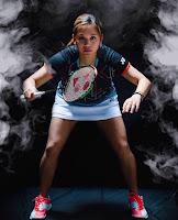 Fil-Am Paula Lynn Obanana competes for Team USA Badminton.
