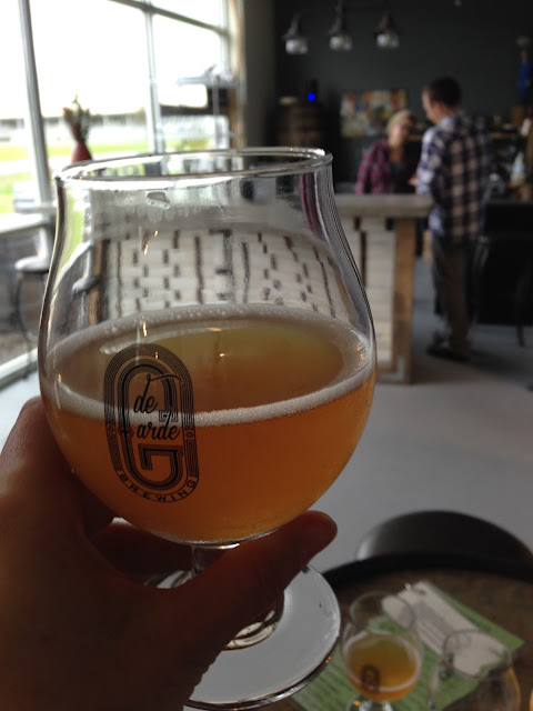 de Garde Brewing | A Hoppy Medium