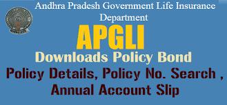 APGLI Annual Account Slip - New bond Download - Policy Details - Policy Status - APGLI Profarms
