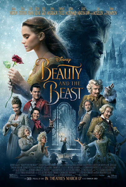 Poster of Beauty and the Beast 2017 Dual Audio (Hindi Original) 720p BluRay Download