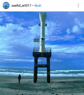 Pantai apra, termasuk 7 cluster wisata di Cianjur