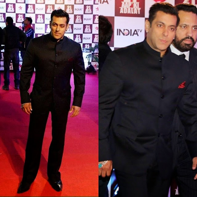 just look at this perfection😍 watta charming man💕 @beingsalmankhan in delhi for 21st anniversary celebrations of a pk i ada lat , !, Salman, Aamir, shahrukh Khan aap ki Adalat Pics