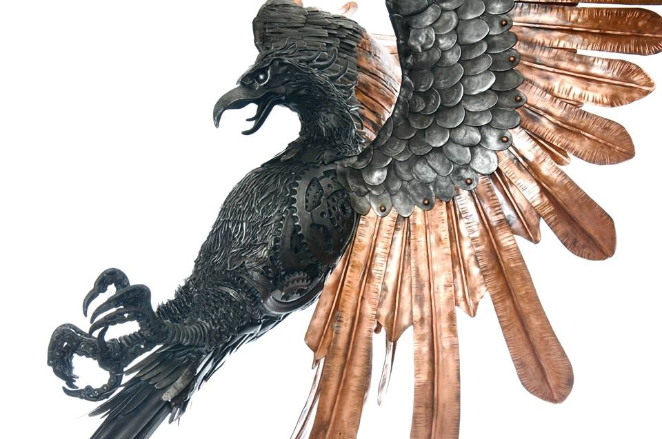 13-Phoenix-Alan-Williams-Animals-Sculptured-with-Recycled-and-Upcycled-Metal-www-designstack-co