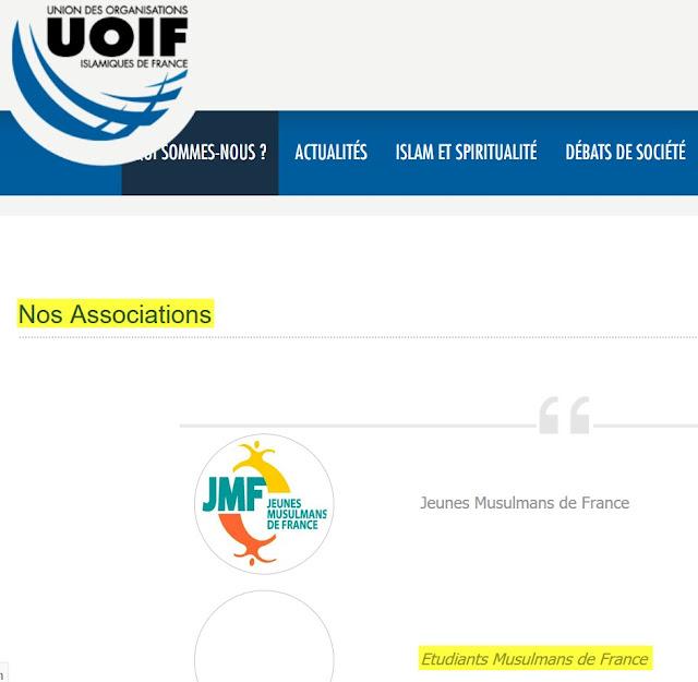 Les Frères Musulmans de France, l'UOIF, ont créé le syndicat étudiant EMF dans leur volonté d'investir aussi le milieu estudiantin.