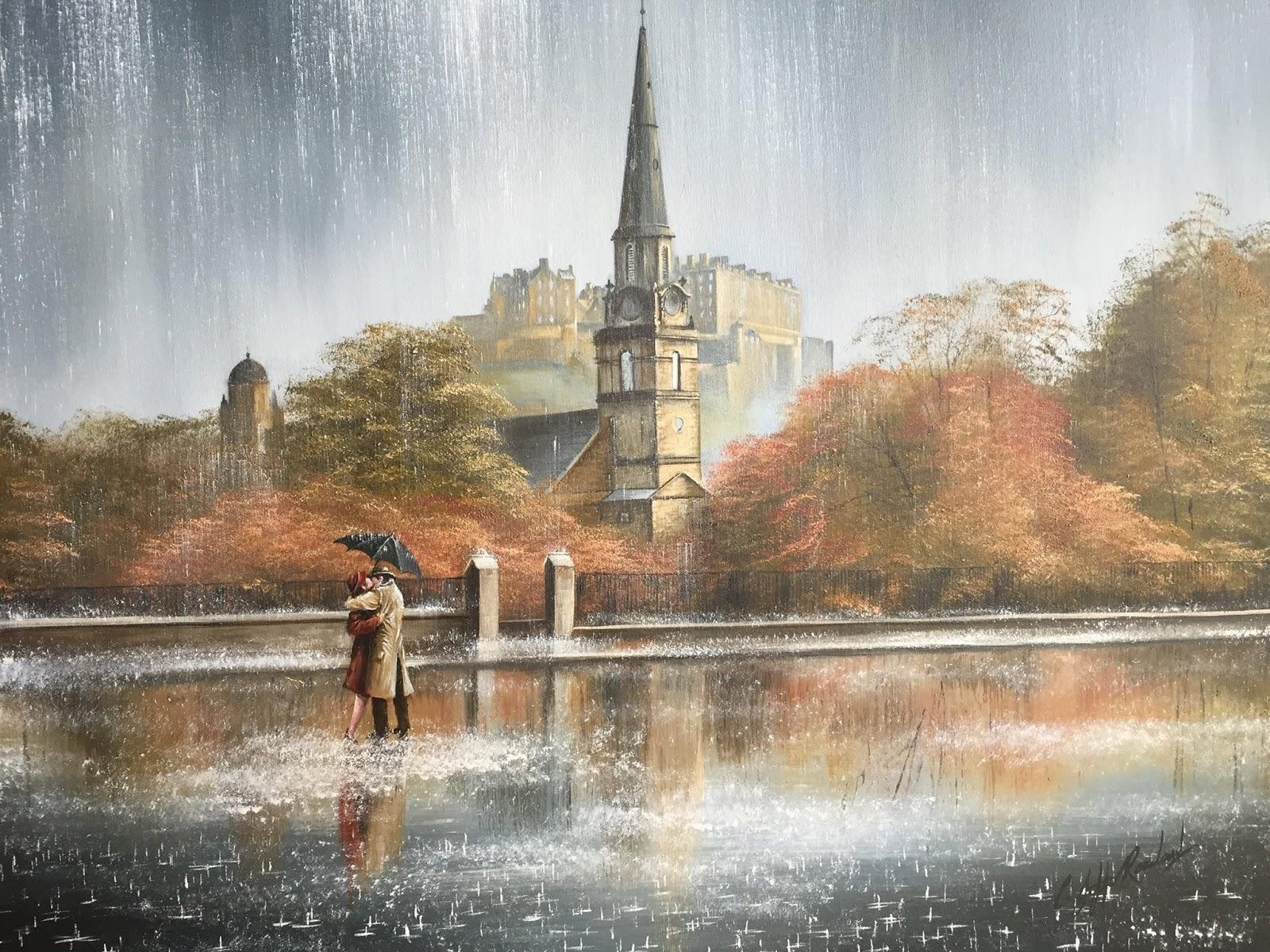 Jeff Rowland ~ Românticos na chuva
