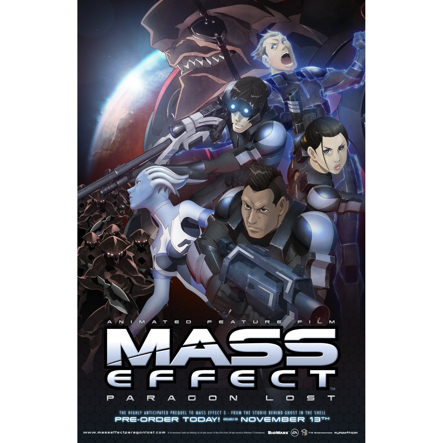 Lilac Anime Reviews Mass Effect Paragon Lost Review