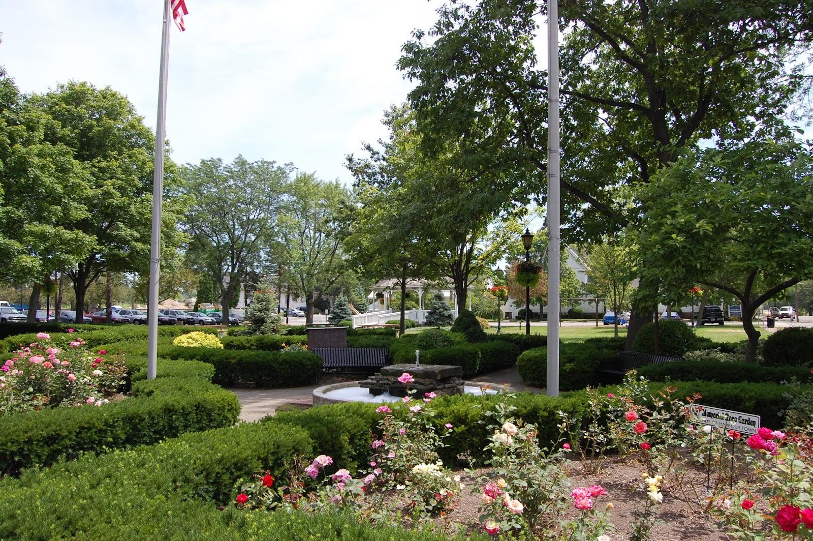 Ohio erie county vermilion - Rose Garden In Beautiful Vermilion Ohio