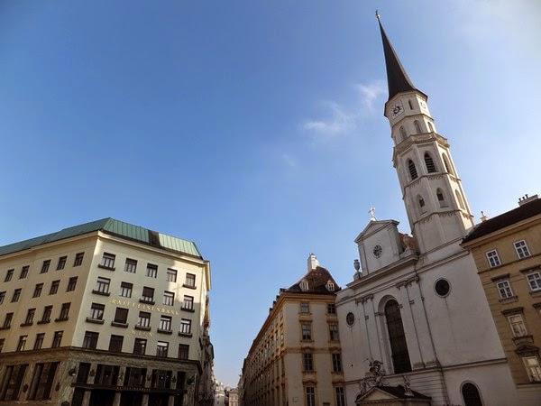 Vienne Wien Innere Stadt Michaelerplatz