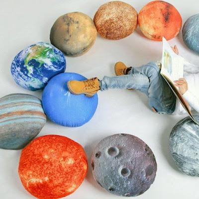 Solar System Pillow Set