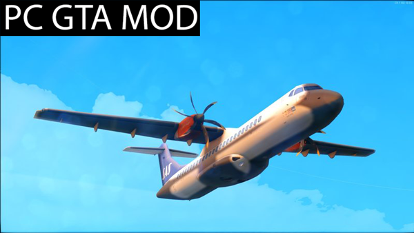 Free Download ATR 72-50072-600 Pack  Mod for GTA San Andreas.
