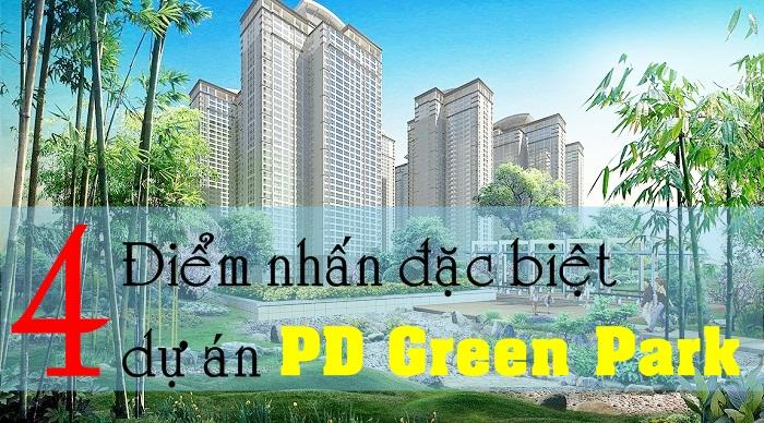 Cảnh quan dự án PD Green Park