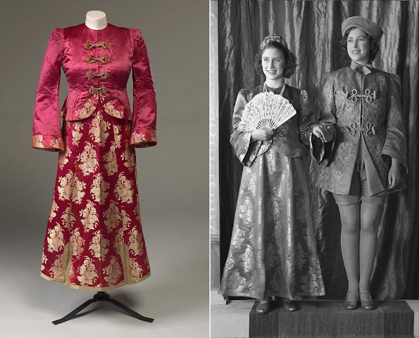 Buckingham Palace continues to exhibit the dresses that had been worn by Queen Elizabeth