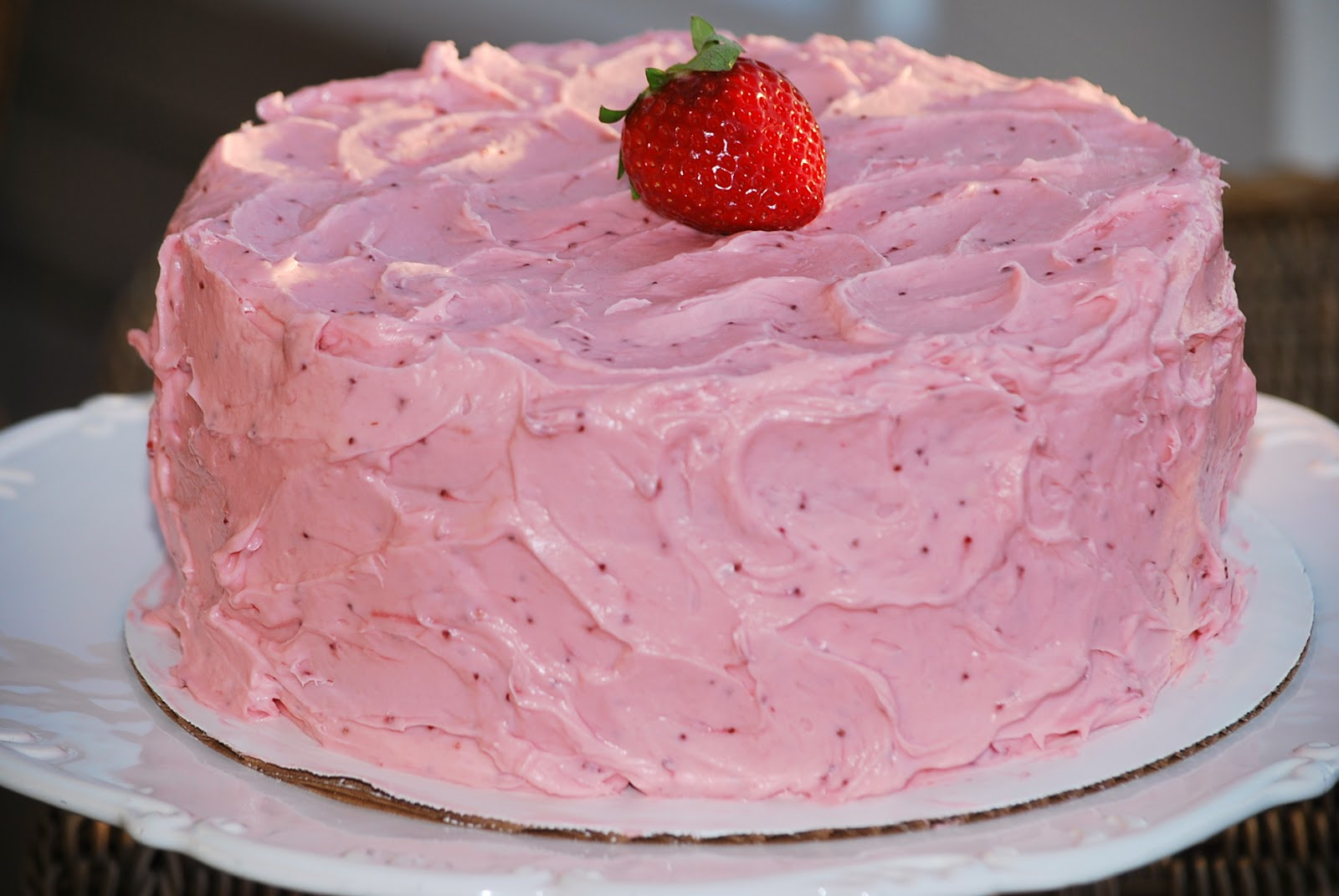 Strawberry Banana Cake Recipe