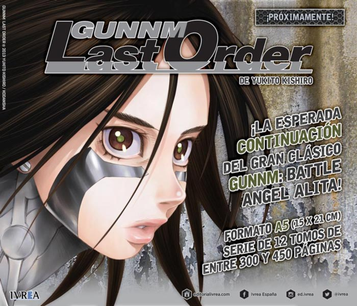 Gunnm: Last Order - Ivrea