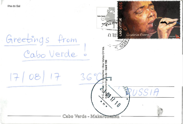 Stamps from Cabo Verde Cape Verde