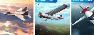 Mau jadi Pilot, Coba dulu Game Simulasi Pilot  Flight Pilot Simulator 3D Free