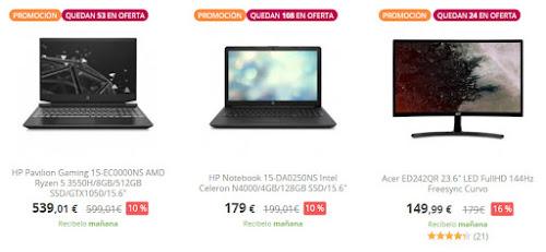 chollos-ofertas-en-pccomponentes-en-6-portatiles-4-monitores