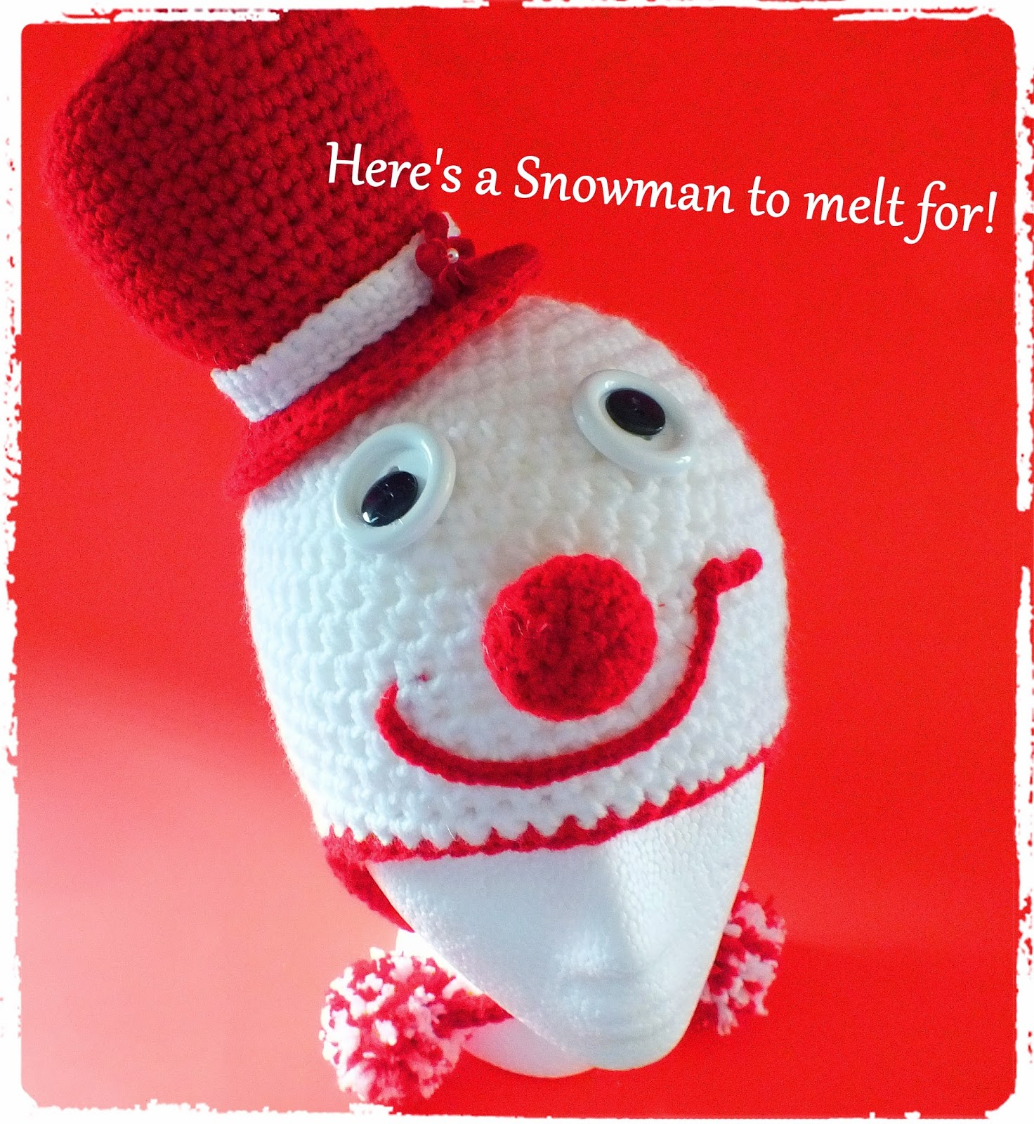 Connie\'s Spot© Crocheting, Crafting, Creating!: Free Crochet Snowman ...