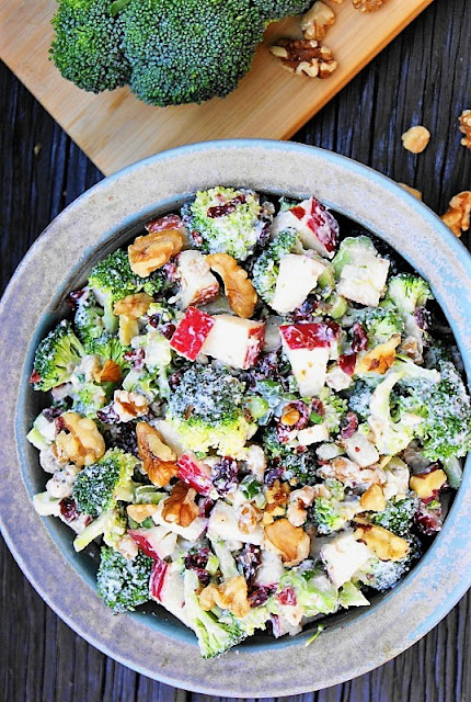 Broccoli & Apple Salad Image