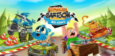 Formula Cartoon All Stars Apk (A lot of money) + Data for Android