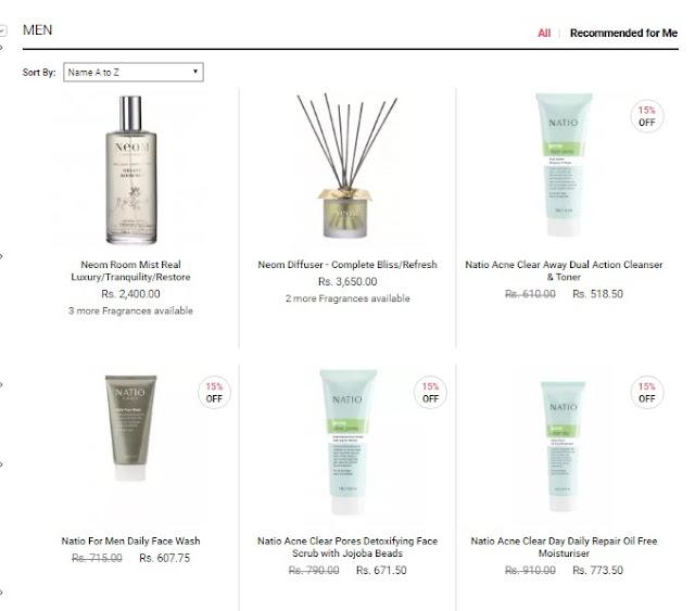 Buy Men Skincare Online