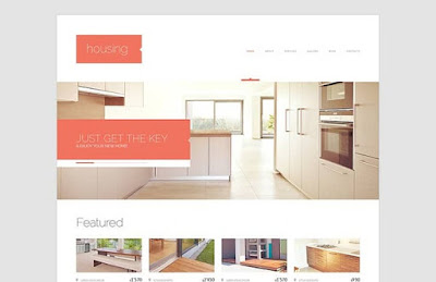 Renting Company WordPress Theme