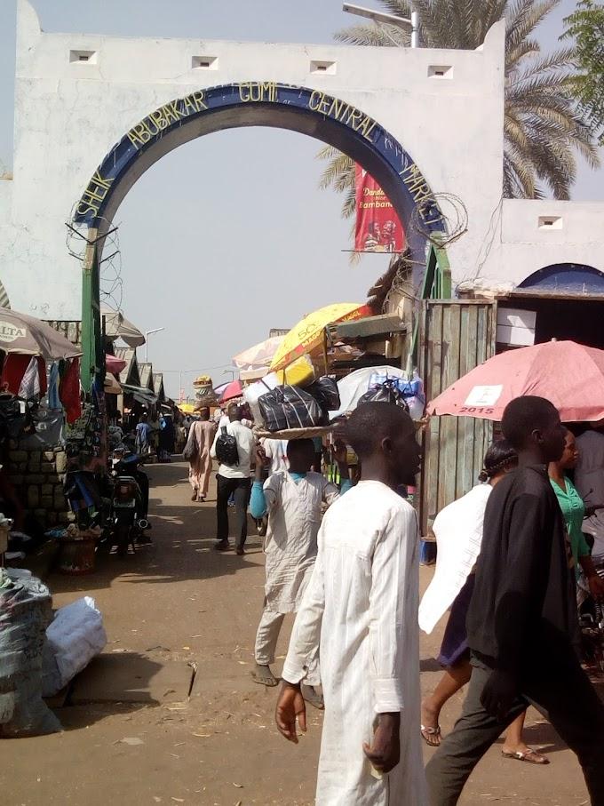 Popular Market place in Kaduna  Sheikh Abubakar Gumi Market