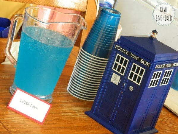 Doctor Who food drink