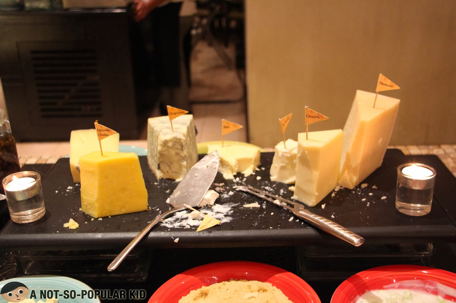 The Cheese Station of Basix - 7 Kinds of Cheese Available!