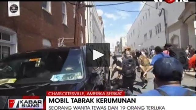 Detik-detik Mobil Tabrak Pengunjuk Rasa, Satu Orang Tewas