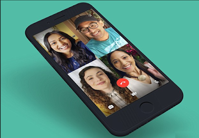 Cara video call 4 orang di whatsapp android dan ios, Video Grup WhatsApp