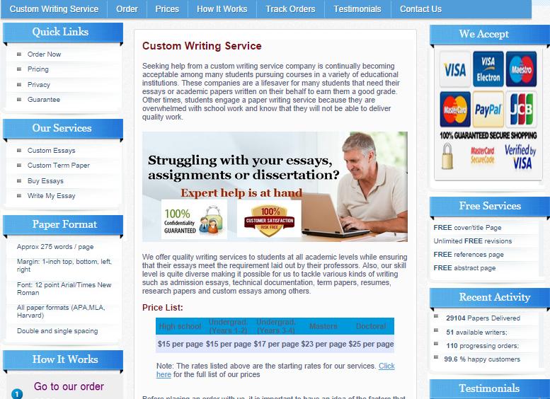 Academic writing companies in us