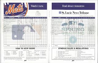 Nationals vs. Metropolitans, 03-19-11. Metropolitans win, 7-4.