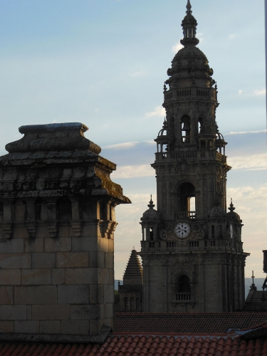 Santiago de Compostela, Finisterre, Camino, Jola Stępień