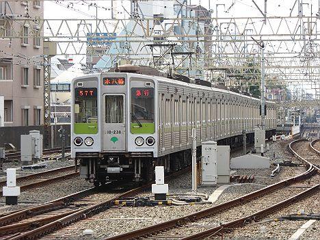 【廃車・・・】10-000形220F・230F急行 本八幡行き