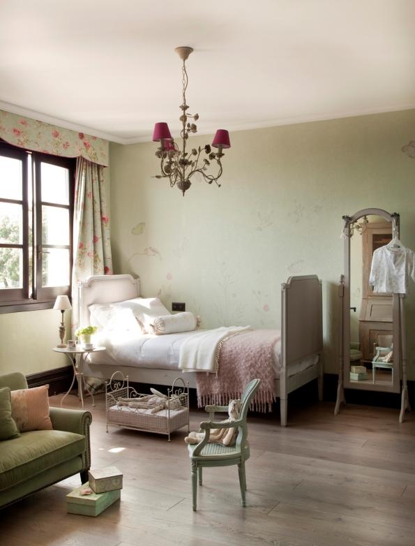 dormitorio infantil casa de campo tradicional chicanddeco