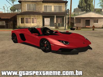 Lamborghini Aventador J 2012 para GTA San Andreas