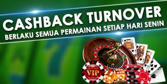 Cashback Turnover