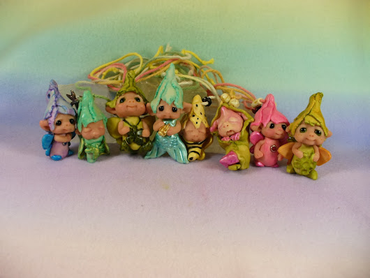 A new batch of baby fairies to hang up or wear