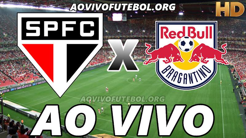 São Paulo x Bragantino Ao Vivo na TV HD