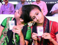 Patna's Conjoined Twins Cast Their Votes As Separate