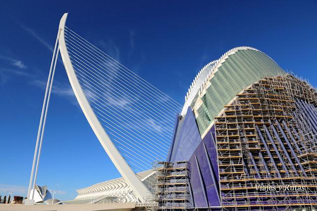 Ágora y Puente Assud D'or, Ciudad de las Artes y las Ciencias, Valencia