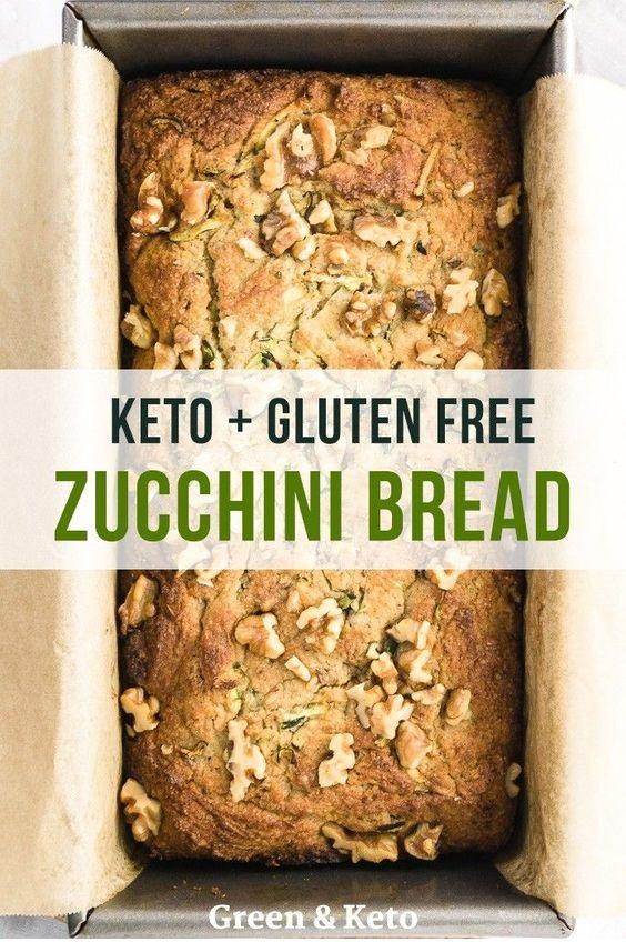 Keto Zucchini Bread With Walnuts