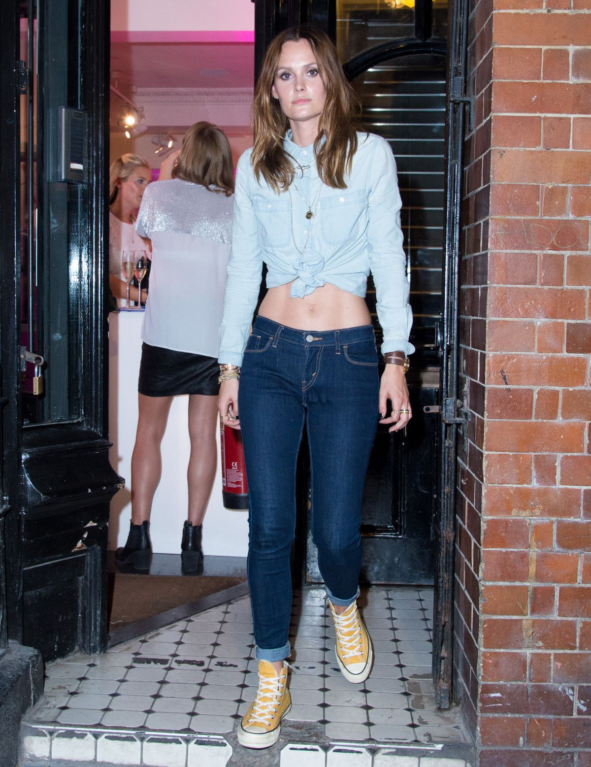 HQ Photos of Charlotte De Carle At Impulse Changing Room A Pop Up For Reinvention In London