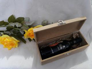 caixa estojo para bebidas de mdf para lembrancinhas personalizados