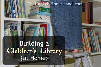 Building a Children's Library at Home- a video tour of how I organized it and get my kids to keep it organized