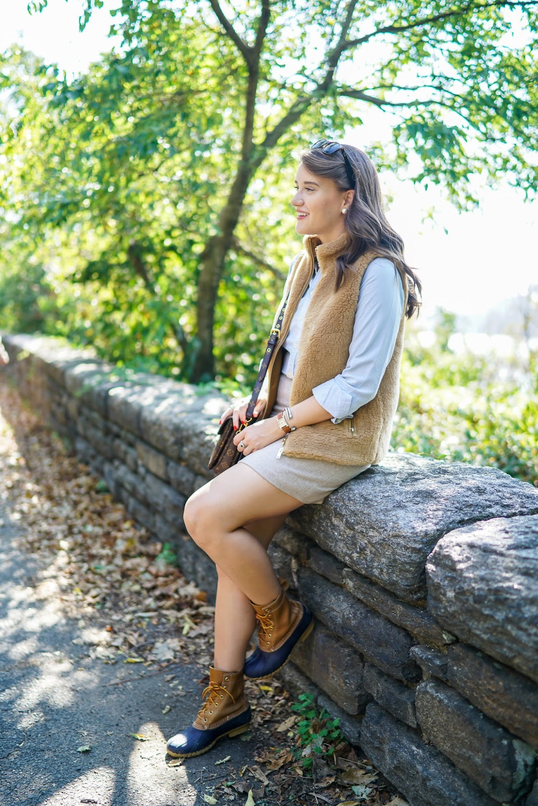 a4ed6d41e67 Fall Uniform with LL Bean Boots | Covering the Bases | Bloglovin'