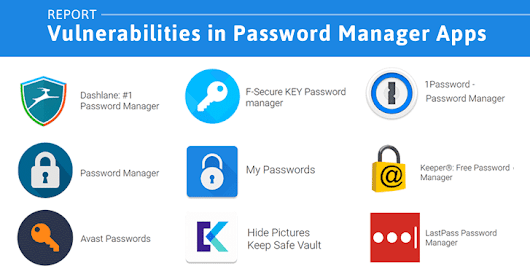 9 Popular Password Manager Apps Found Leaking Your Secrets